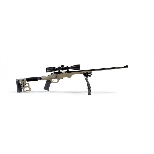 Chassis MDT LSS-22 CZ 452 Color FDE Con Accesorios